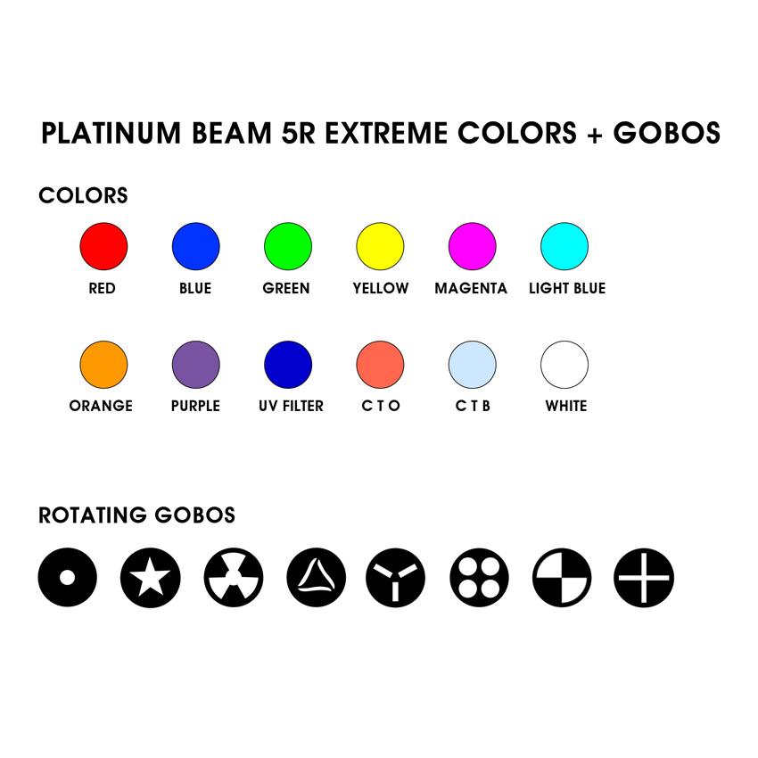 elation platinum beam 5r extreme 6