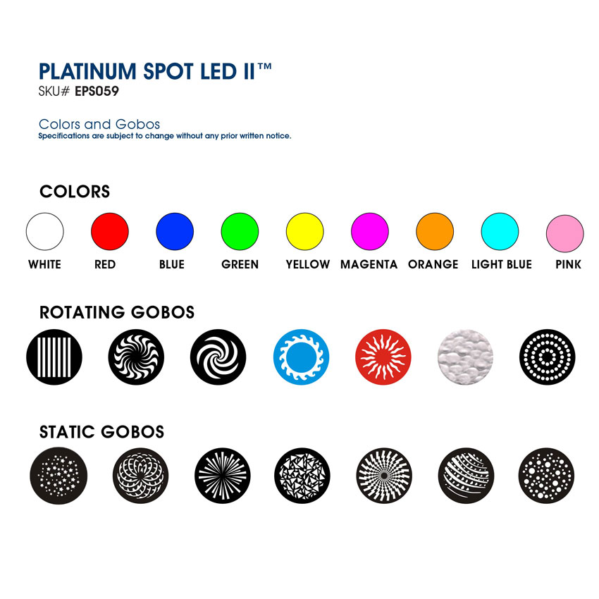 elation platinum spot led II 5