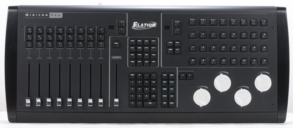elation midicon pro 2